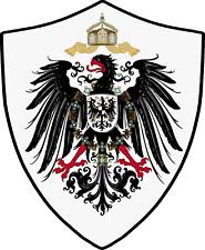 Reichsadler Deutsches Reich   1889 Breite ca. 25cm Höhe ca. 27 cm rückenaufnäher
