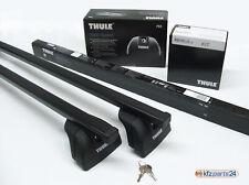 THULE Reling Dachträger AUDI A4 Avant B8 + B9 integrierte Reling: 753+7122+4007