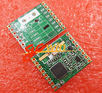 2PCS RFM69HW 433Mhz +RFM12B HopeRF Wireless Transceiver (RFM69HW-433S2)Remote/HM