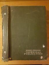 Massey Ferguson Massey 168 Workshop Manual Reprint 1856000m1
