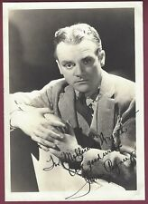 James Cagney, Actor, Signed Photo, COA, UACC RD 036
