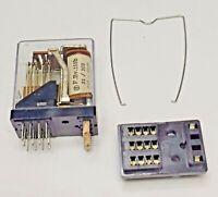 MH4P Omron 4PDT 12VDC relay replacement F.BV.153-b31/103 Fujitsu: Kenwood & CB's