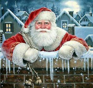 Santa Claus Diamond Painting Christmas Design Embroidery Mosaic Pattern Displays
