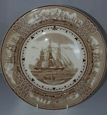 WEDGWOOD AMERICAN CLIPPER SHIP PLATE 'GAME COCK' 23 cms