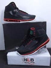 Air Jordan 2.0 NEW 455616 005 Men's Size 7 RARE Blk/Classic-Green/Varsity Rd/Wht