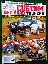 Australian 4WD ACTION - CUSTOM OFF-ROAD TOURERS - NOS - Landcruiser, Jeep + More