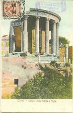TIVOLI - TEMPIO DELLA SIBILLA E VESTA (ROMA) 1905