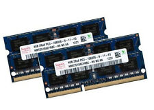 Hynix 2x 4gb 8gb para portátiles RAM ddr3 1333 MHz pc3-10600s tan DIMM pc10600 204pin