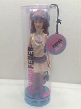 NEW Barbie Fashion Fever Drew Doll w/ White & Purple Silky Dress ~ NIB
