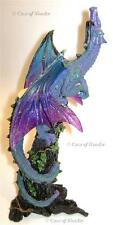 "NEMESIS NOW ""STAR GAZER"" DRAGON T-LITE HOLDER Gothic/Fantasy/Myth/Legend"