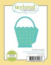 TAYLORED EXPRESSIONS   WICKER POCKET DIE  TE313