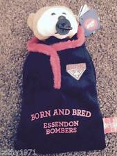 NEW Official Licensed AFL Essendon Bombers Baby Beanie Bear - Eric