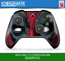KNR9653 DEADPOOL FACE PREMIUM XBOX ONE S & X CONTROLLER SKIN STICKER