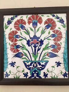 Antique Turkish Tile Mural