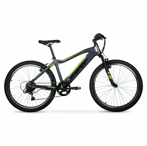 Hyper E-ride Electric Mountain Bike, 26 Inch Wheels, 36 Volt Battery