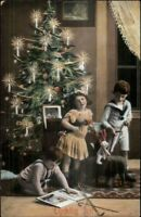 Foreign Christmas - Children New Toys c1910 Postcard