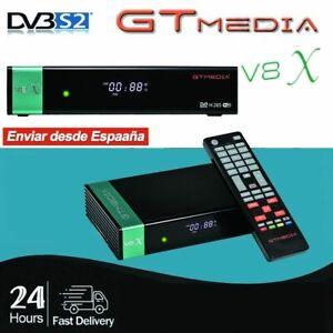 GTmedia V8X Satellite TV Receiver New GTmedia V8 Nova with DVB-S2/S2X Wifi H.265