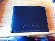 genuine lambretta leather wallet black NEW BARGIN