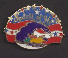 1996 Atlanta Paralympic Swimming Olympic Pin Blaze Spirit of 96