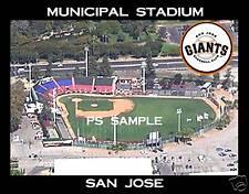 San Jose - MUNICIPAL STADIUM - Souvenir Fridge Magnet