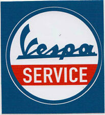 VESPA SERVICE PVC AUFKLEBER (MBRPVC003)