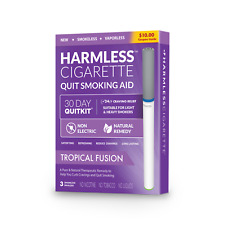 Harmless Cigarette Quit Smoking 4 Week Kit / Inc. FREE Quit Support Guide.