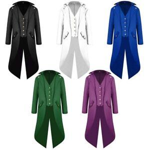 Vintage Men's Jacket Victorian Steampunk Tailcoat Tux Tailcoat Tuxedo Costume