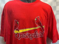 Springfield CARDINALS Baseball T-Shirt Size 3XL