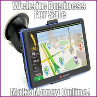 GPS DEVICES Website Earn $76.71 A SALE FREE Domain FREE Hosting FREE Traffic