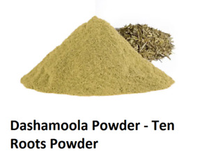Organic Herbal Dashamoola Powder - Ten Roots Powder for joint and muscle health