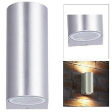 Modern Up Down Wall Light GU10 IP44 Double Outdoor Garden Wall Light UKES