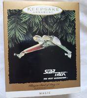 Hallmark Star Trek KLINGON BIRD OF PREY  SHIP Light Up Christmas Ornament 1994