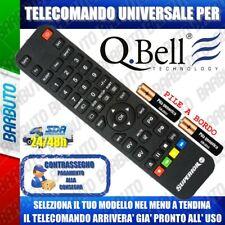 TELECOMANDO UNIVERSALE QBELL, SCEGLI IL TUO MODELLO LO RICEVERAI GIA PRONTO