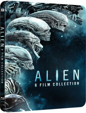 Alien 1-6  Steelbook / Includes Alien Covenant /  Region Free
