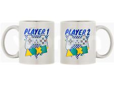 Playstation P1 & P2 mug set