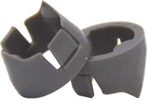 Rage Hypodermic Trypan Replacement Broadhead Shock Collars 100 Grain Black 35107