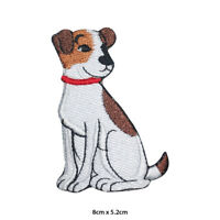 Disney Dog Cute Embroidered Patch Iron on Sew On Badge For Clothes Bags etc