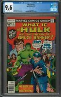 What if? #2 CGC 9.6 White Pages Hulk had the Brain of Bruce Banner