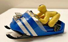 """1960's Aurora Snowmobile """"Bushwacker"""" T-Jet Ho Scale Slot Car Original And Nrmt!"""