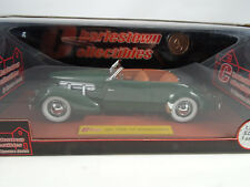 1:18 Signature Charlestown collect. 1937 CORD 812 SUPERCHARGED Verde LMTD RAREZA