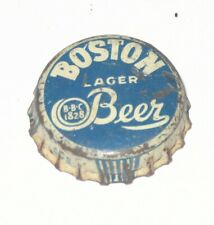 EARLY BOSTON LAGER BEER CORK BEER BOTTLE CAP CROWN Boston Brewing Co MA Pre Pro