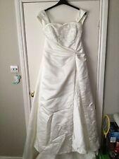 wedding dress size 22 used