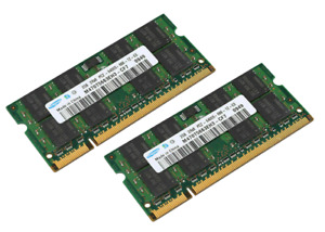 2GB 4GB DDR2 800 MHz Notebook Laptop RAM PC2-6400S SODIMM 1.8V SAMSUNG Speicher