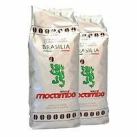 Mocambo Brasilia Espresso - 2 Pakete zu je 1 KG - Kaffee Bohnen - Neuware