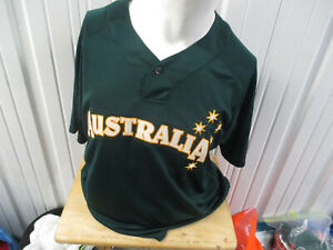 MAJESTIC WBC AUTHENTIC AUSTRALIA NATIONAL'S BASEBALL TEAM SEWN 48 JERSEY NWT
