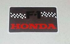 Adesivo F1 HONDA Formula 1 sticker Promo sponsor anni 80 Metal flag