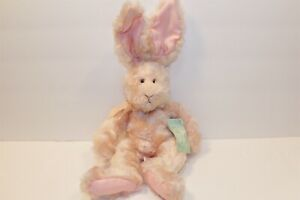 Russ Fuzzy Wuzzy the Pink Bunny Rabbit beanbag plush (310-234-4) MWT
