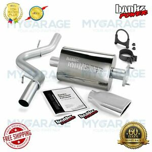 Banks For Jeep 4.0L Wrangler 2004-2006 Power Monster Exhaust System 51314