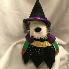 Witch Dog Doggie Halloween Costume Outfit Black Hat Size Small