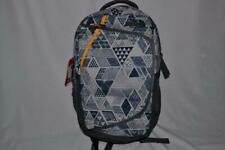 AUTHENTIC THE NORTH FACE HOT SHOT BACKPACK BOOKBAG GREY RADIANT YELLOW BRAND NEW